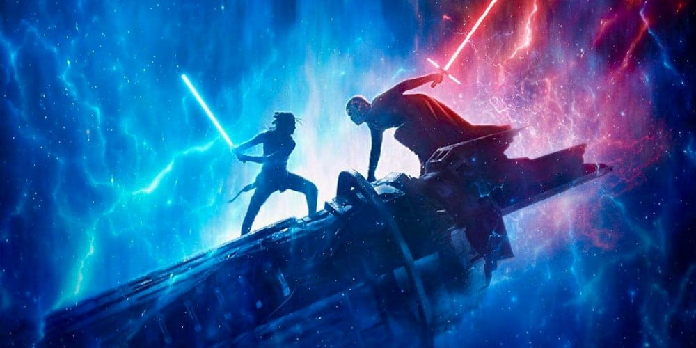 Star Wars: The Rise Of Skywalker disappointed poster.