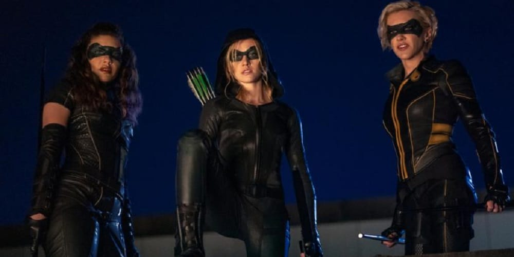 Backdoor pilot Green Arrow and the Canaries Laurel and Dinah and Mia