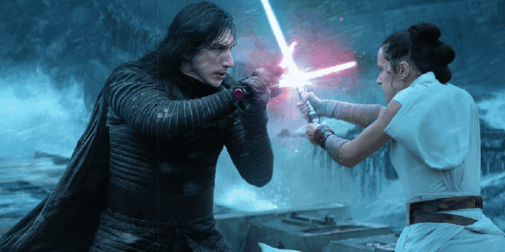 Daisy Ridley Criticism Rise of Skywalker Kylo Rey fight