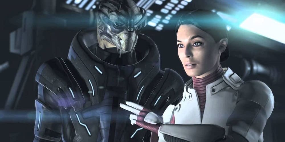 Mass Effect 1 playable next-gen consoles Ashley Williams and Garrus