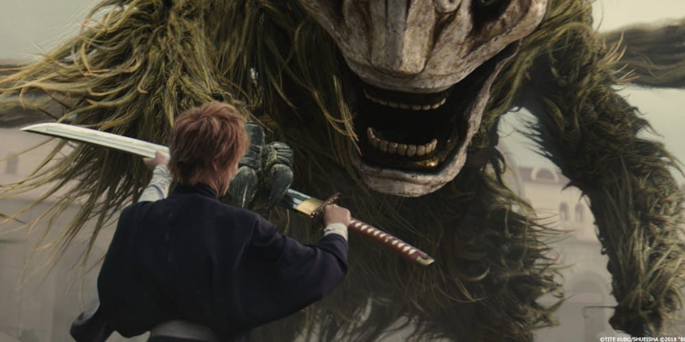 Bleach live-action movie the Hollow.
