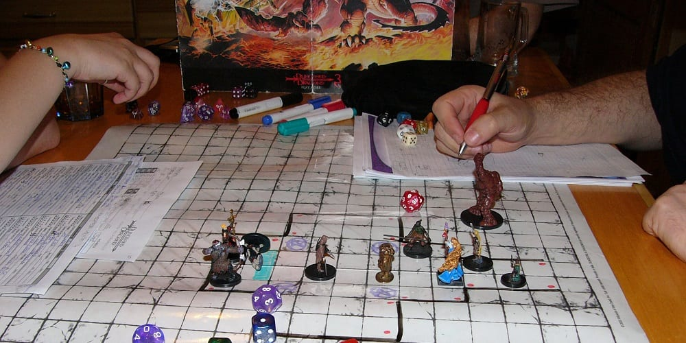 Tabletop Games Technology COVID DnD Map