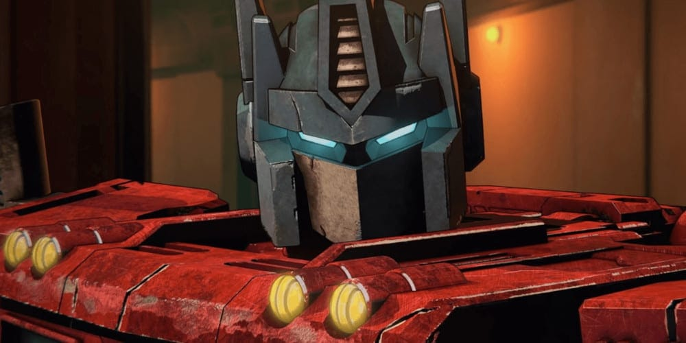 Transformers: War For Cybertron: Siege review Optimus.