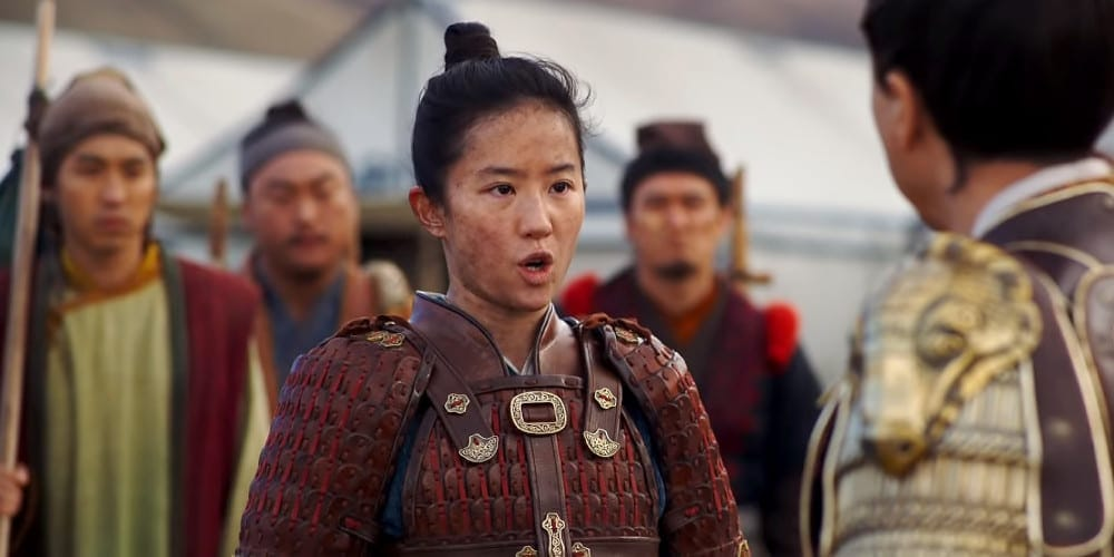 Live-Action Mulan review soldier.