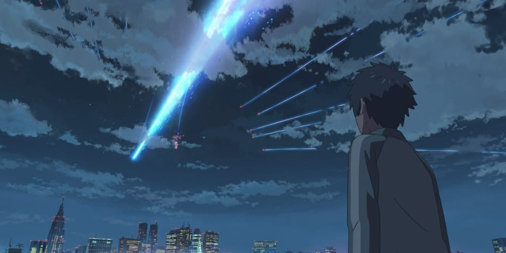 Your Name live-action remake comet.