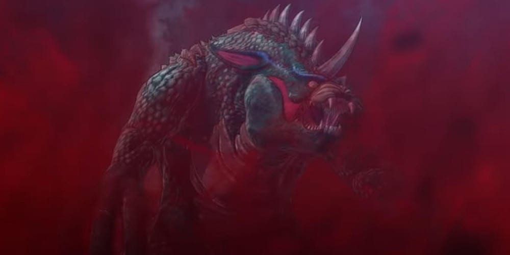 Godzilla Singular Point teaser trailer monster.