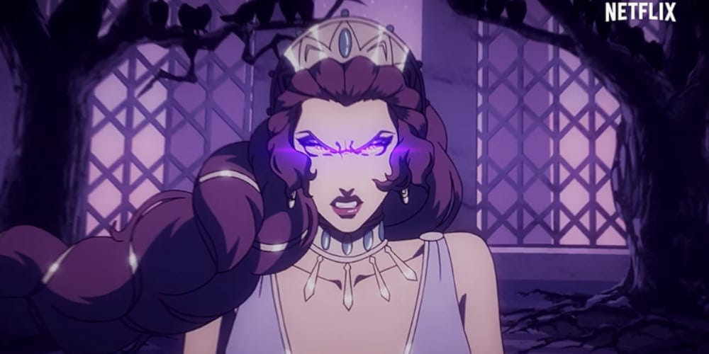 Problems with Blood Of Zeus anime Hera.