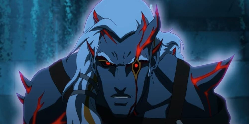 Problems with Blood Of Zeus anime demon.