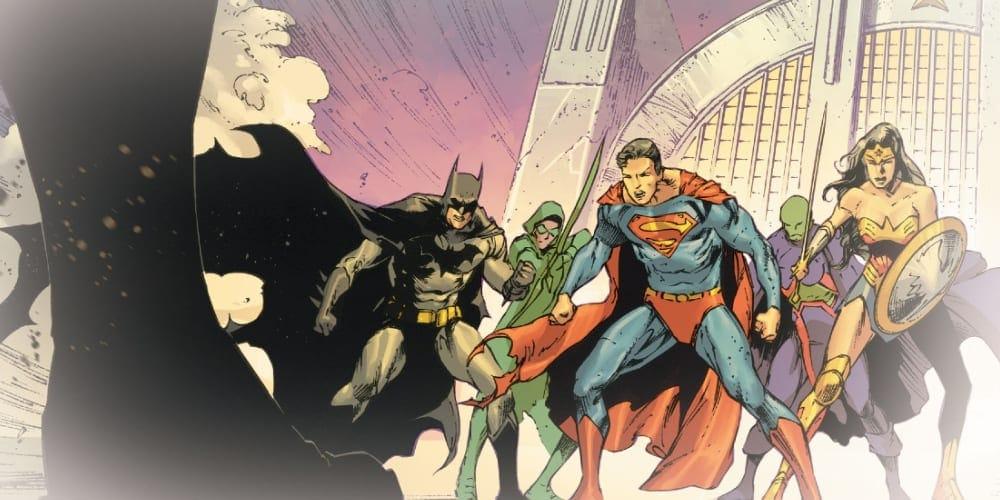 DC Future State Week Two, Justice League, Next Batman, Superman, Green Lantern, Sojourner Mullein, Jessica Cruz, Guy Gardner, John Stewart, Wonder Woman, Flash, Aquawoman, Superwoman, Kara Zor-El