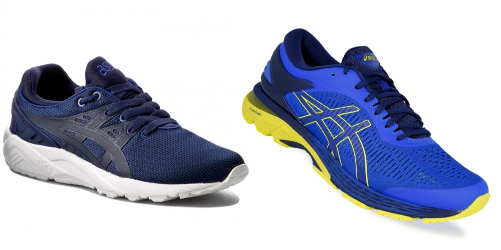 Тренировочные Asics GEL Kayano Trainer EVO и беговые Asics GEL Kayano 25