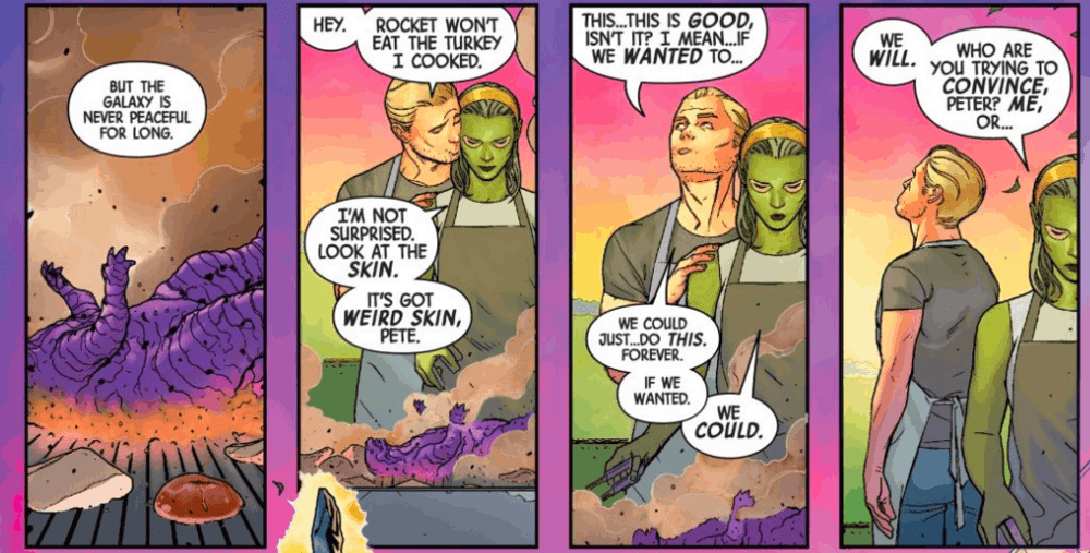 Gamora, Guardians of the Galaxy, Star-Lord, Peter Quill, Al Ewing, Juann Cabal