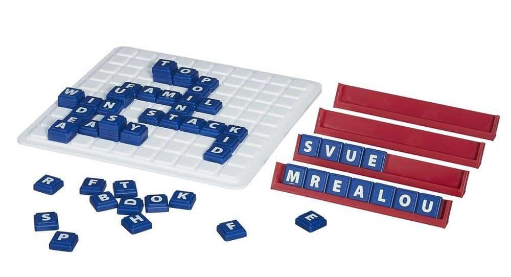 Upwords - Best Family Board Games for Game Night