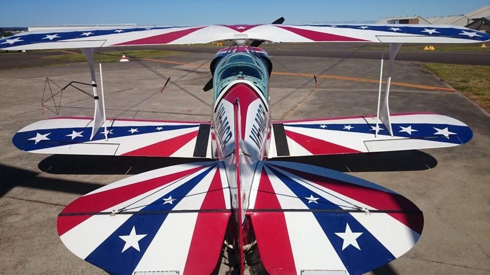 Pitts Special - advanced aerobatic flight training aircraft