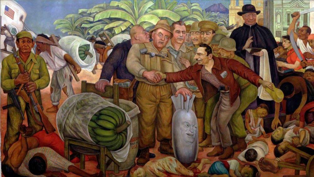 Ilustración sobre el término Republicas Bananeras