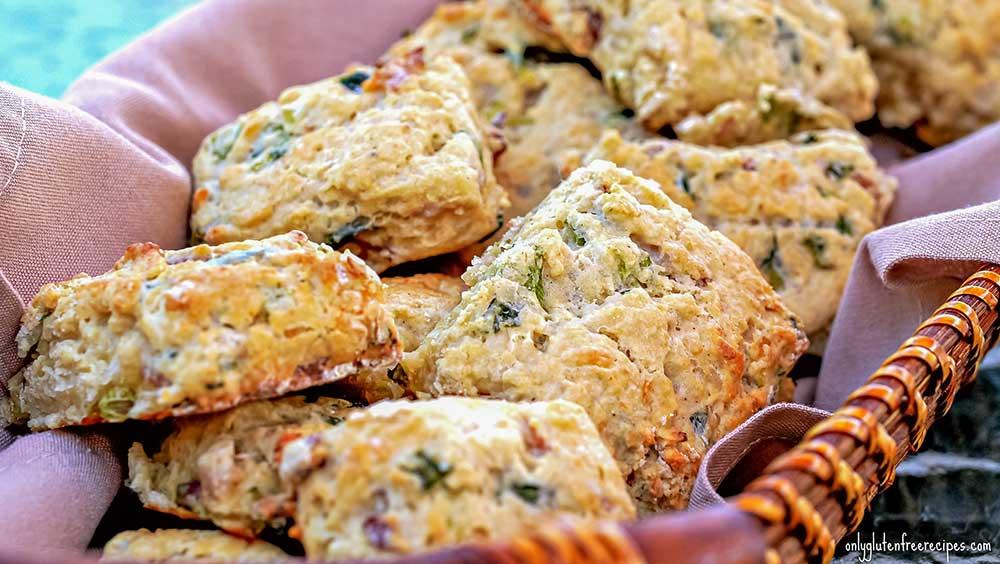 scone, gluten free