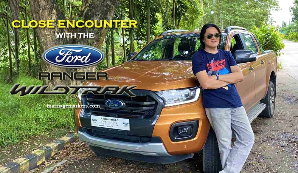 Dennis Lo with Ford Philippines 2020 Ford Ranger Wildtrak