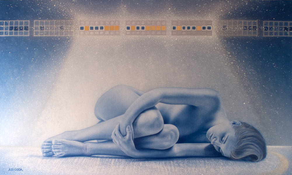 NIRVANA art nude by A.D. Cook, 2012