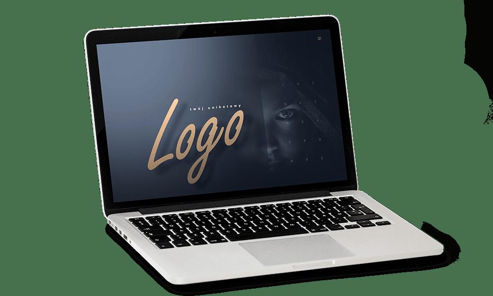 Logo napis na macbook