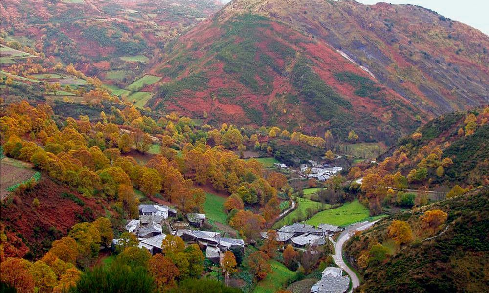 El esplendor del otoño en la Serra do Courel