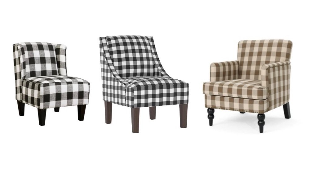 buffalo check chairs from target review