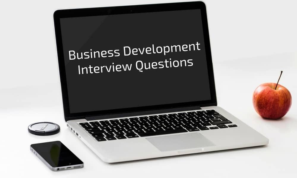business development interview questions
