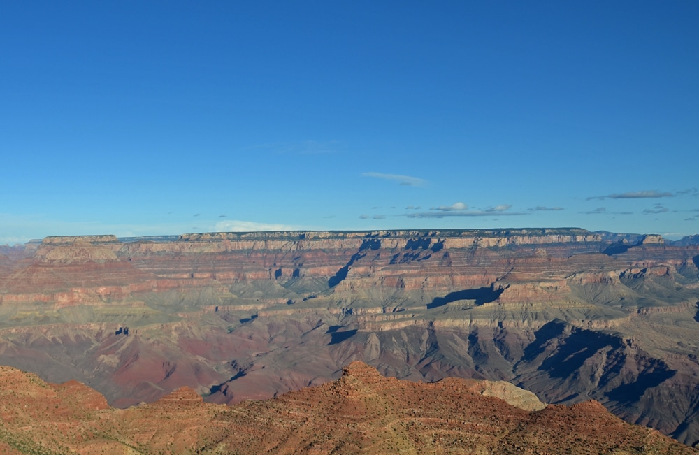 Looking at the many layers in Grand Canyon National Park