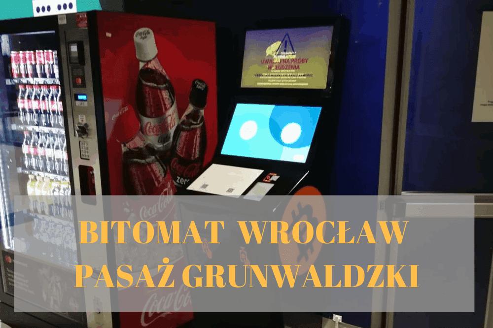 Bitomat Wrocław Pasaż Grunwaldzki
