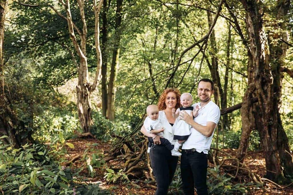 Heaton Park Family Photoshoot