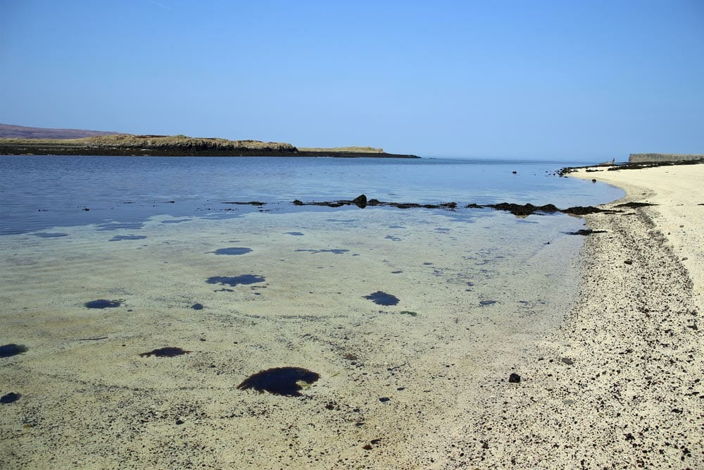 Coral beaches - Isle of Skye