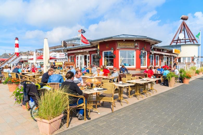 Летний туризм в Германии на острове Зильт