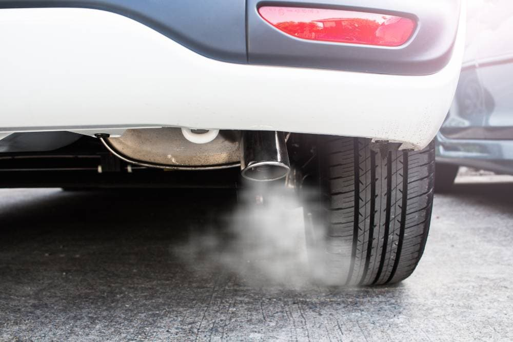 If your exhaust smoke is white or any other color, find out from the BlueDevil Auto Pros what might be causing it and how to fix it.