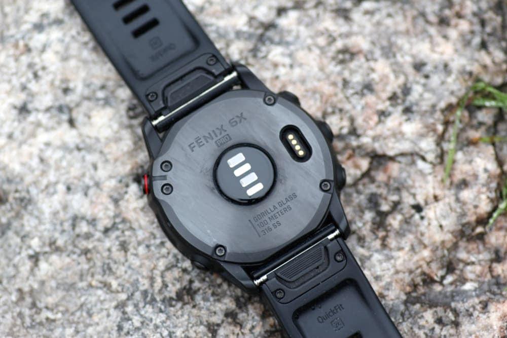Фотоплетизмографический (наручный) пульсометр в Garmin Fenix 6x Pro