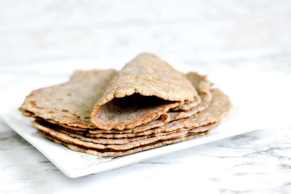 Image of homemade keto tortillas
