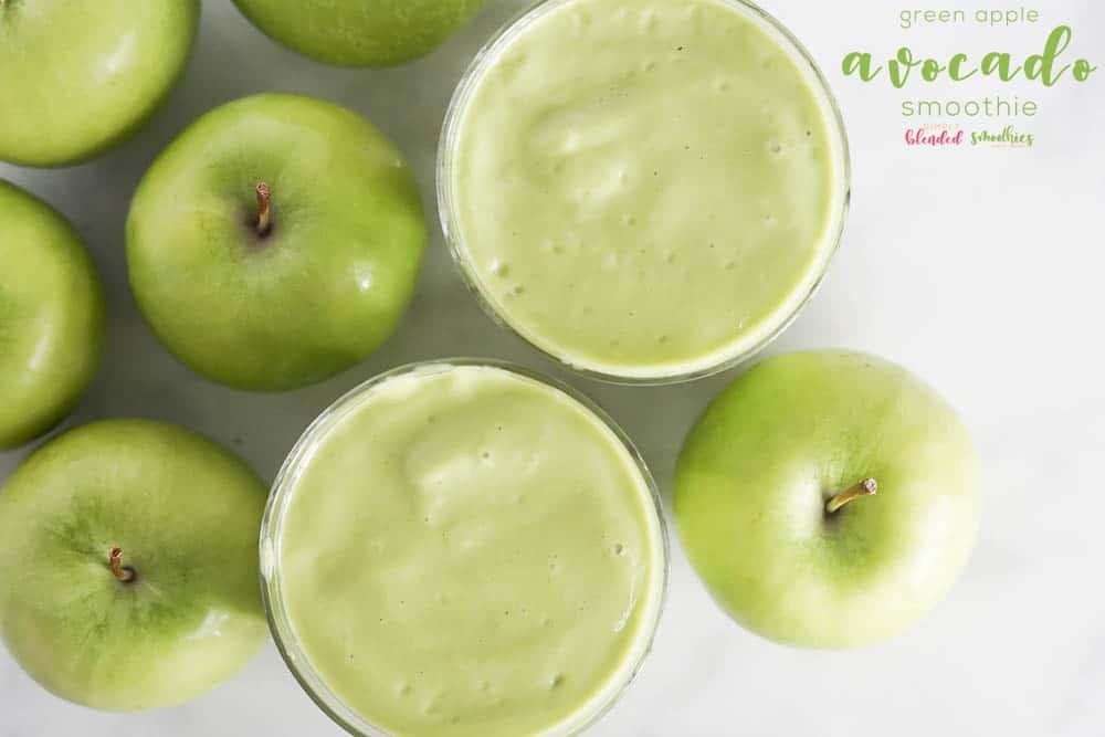 Green Apple Avocado Smoothie