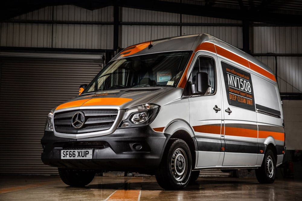 Commercial van photography and luxury car and van photography manchester