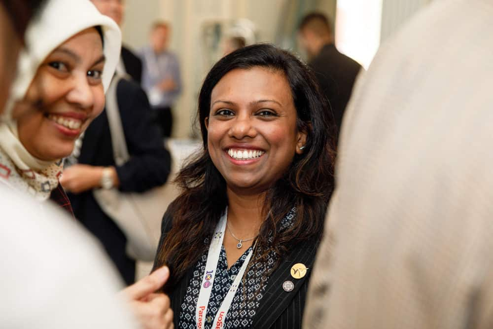 delegates enjoying their time at a conference in manchester photo taken by er event photography who are corporate photographers