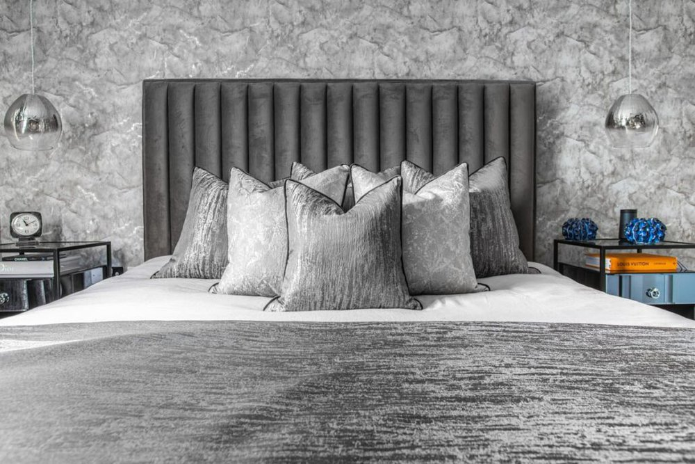 cushions and bedroom design