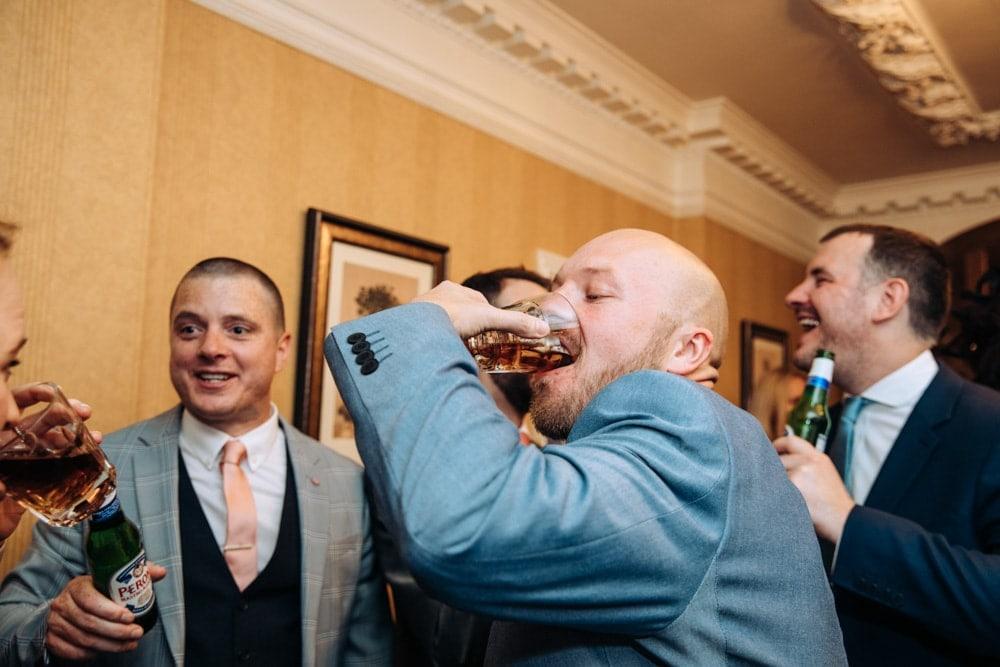 Inglewood Manor Wedding Party in full swing