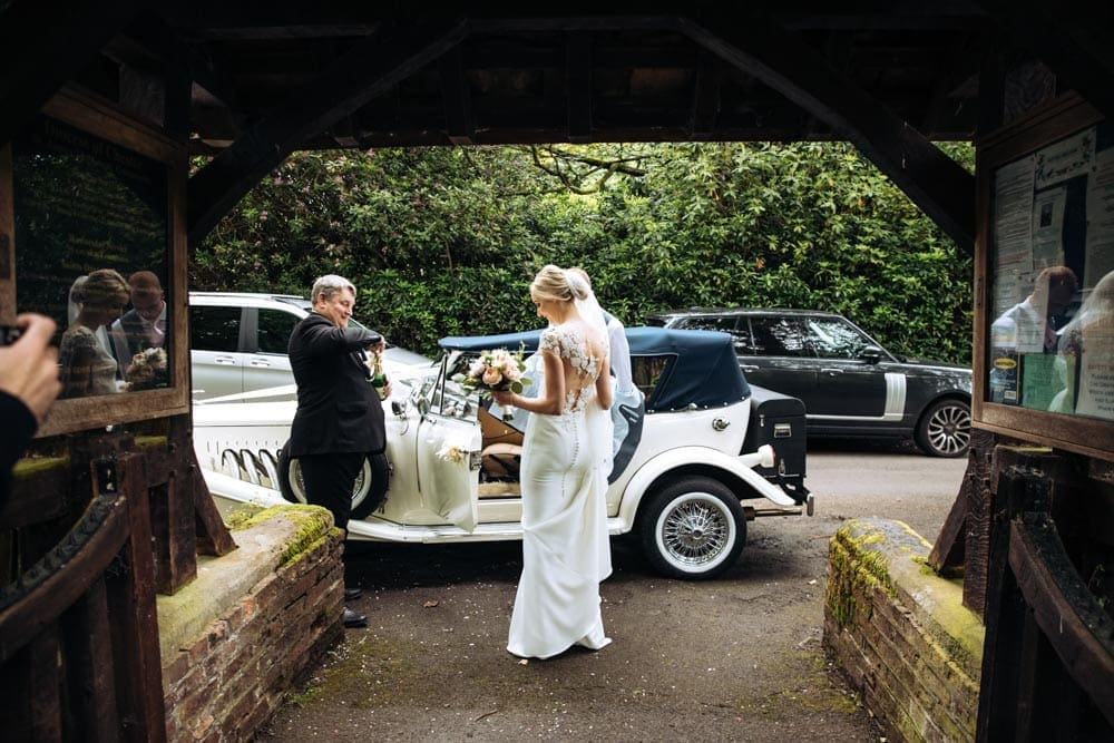 Getting married in a Church Wedding in Cheshire then onto Mottram Hall