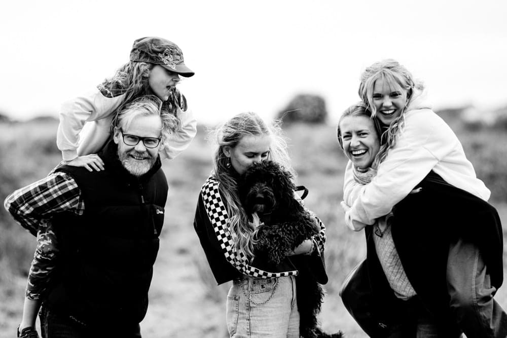 Family group fun photography manchester
