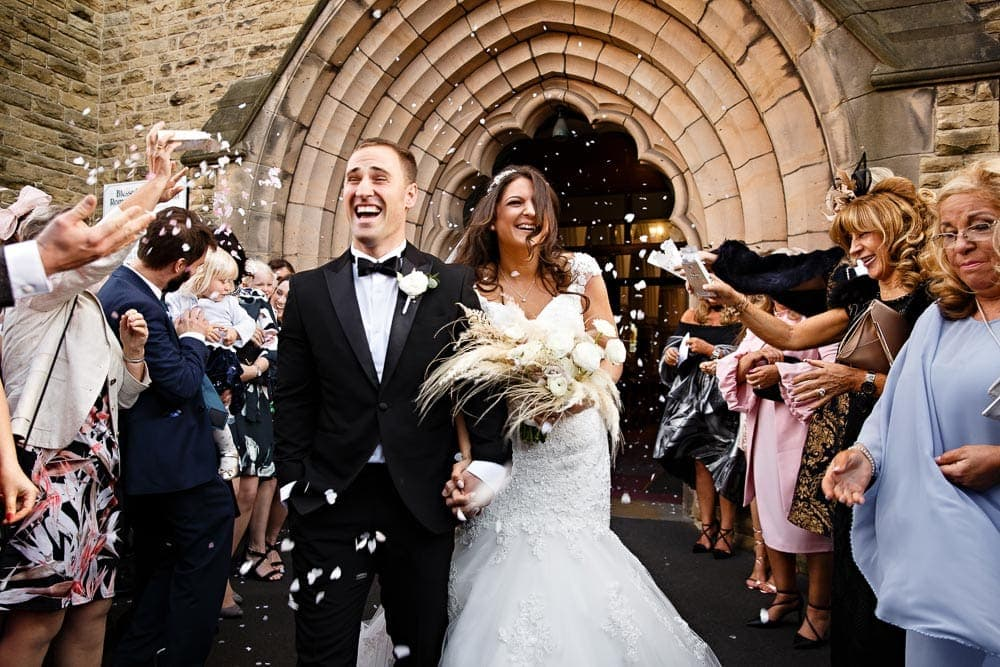 Confetti Portfolio Image for Manchester Wedding Photographer