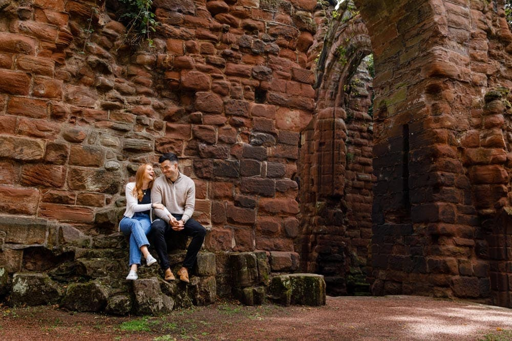 Engagement Photography with Emma and Ben in Chester