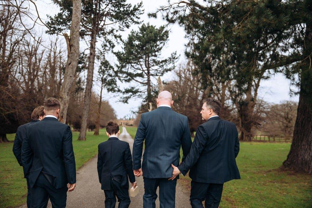 february wedding at soughton hall