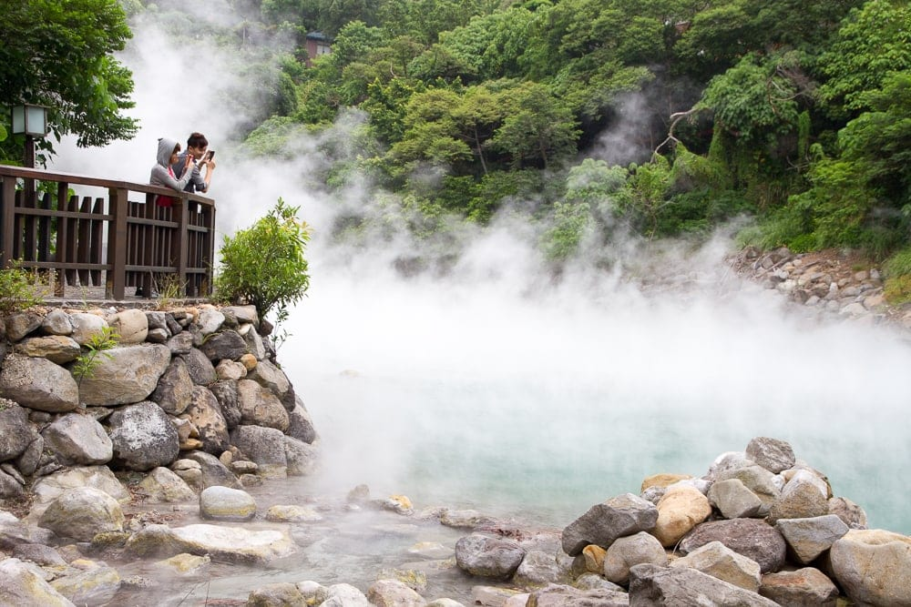 Beitou Hot Spring, one of the best things to do in winter in Taipei