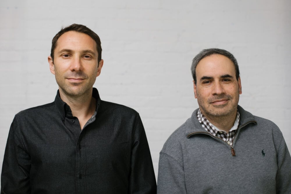 Thimble Insurance co-founders Jay Bregman and Eugene Hertz