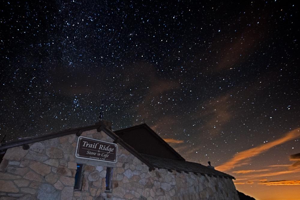 rocky mountain national park stargazing