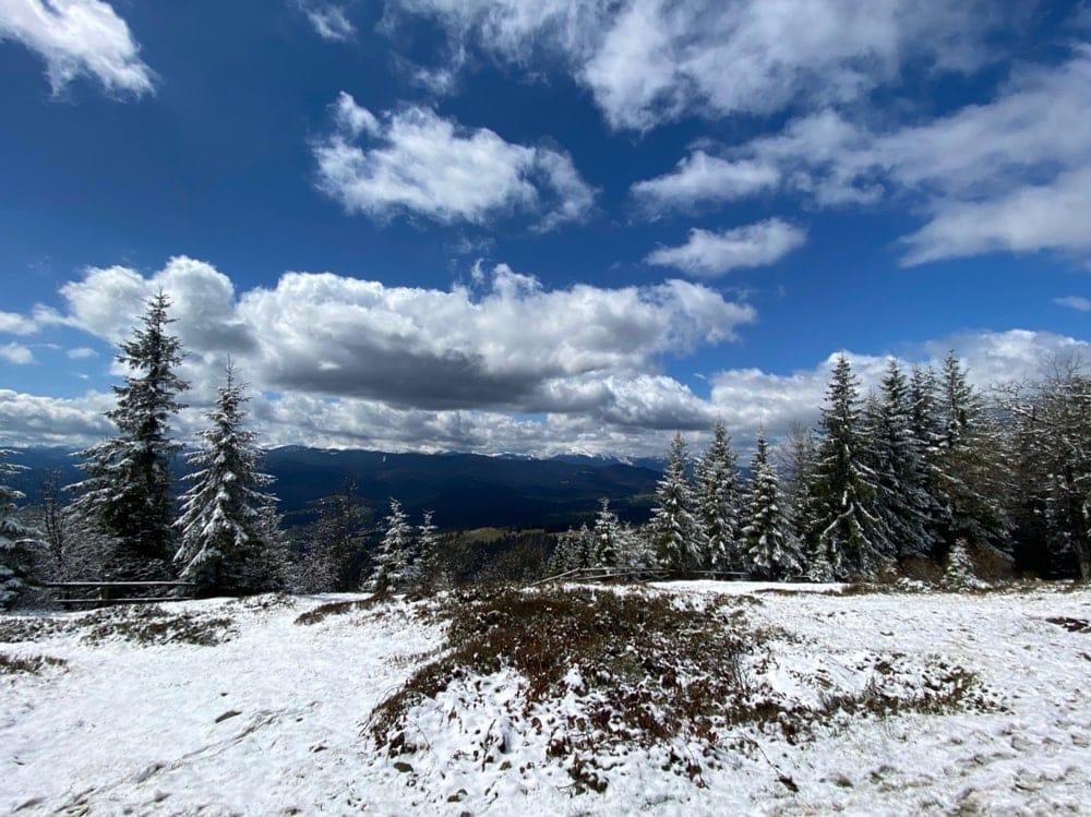 Вершина Магуры на забеге Karpaty Dynafit Trail 2021