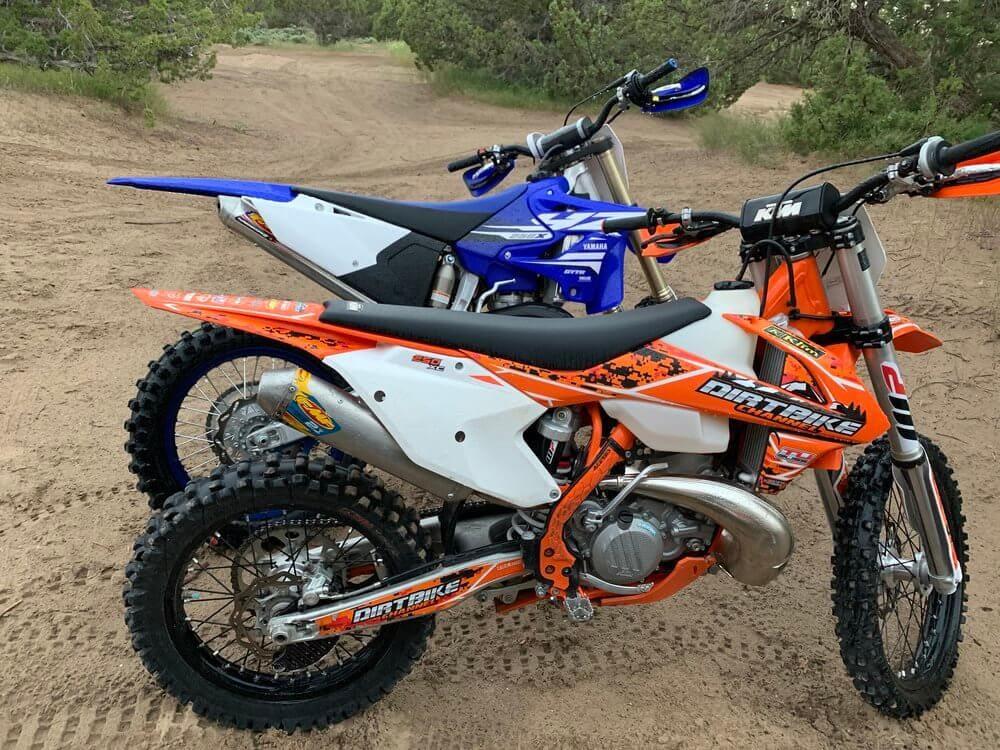 used dirt bikes