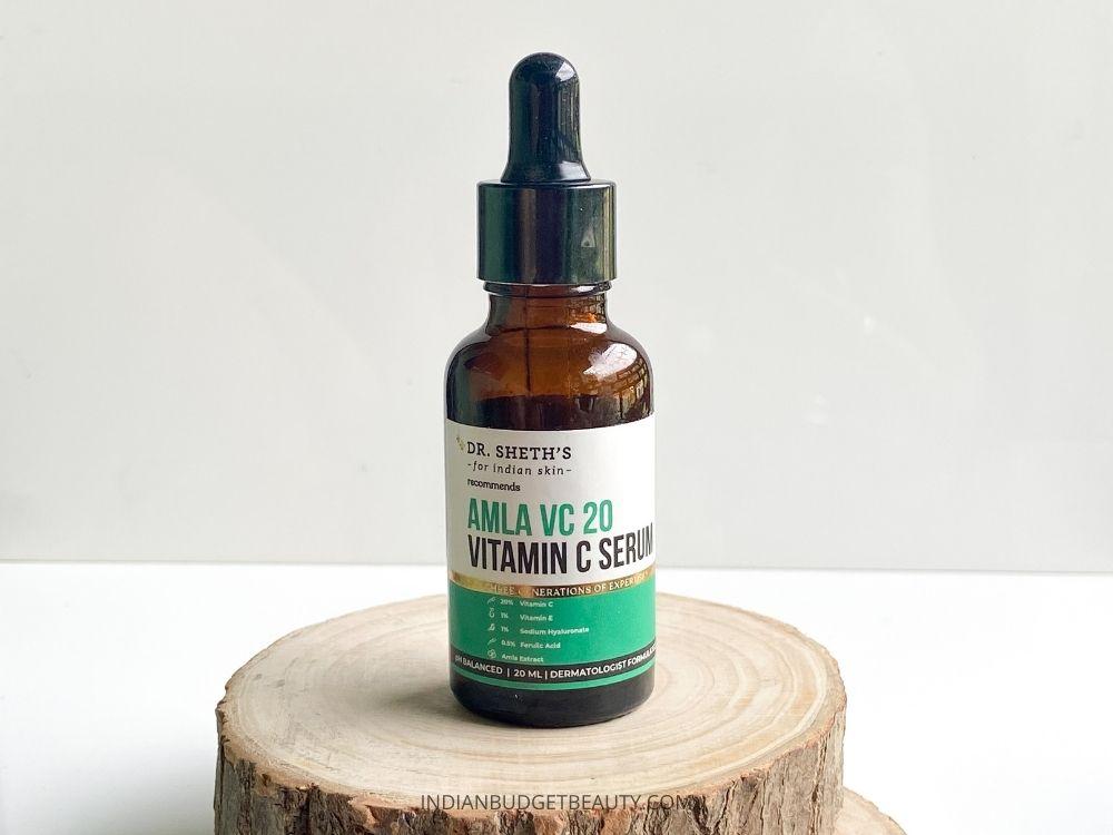 Dr Sheths Amla VC 20 Vitamin C Serum Review