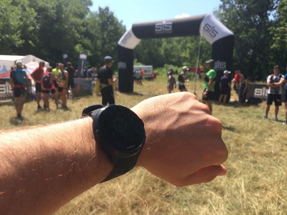 Suunto Spartan Sport Wrist HR на забеге Kyiv Trail